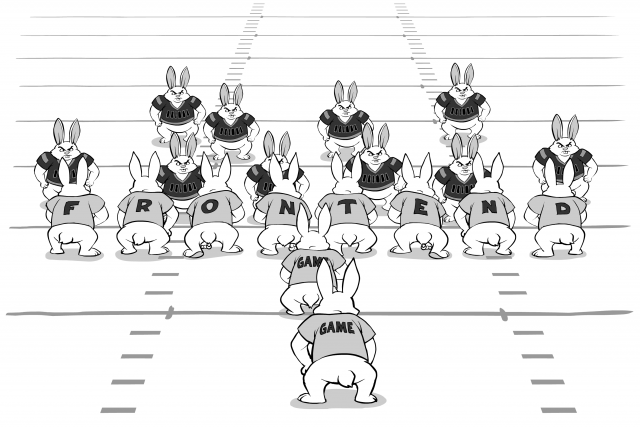 Front-End Servers as an Offensive Line