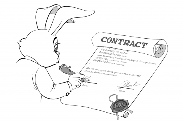 signing IDL contract