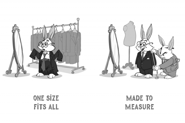 One-Size-Fits-All vs Made-to-Measure