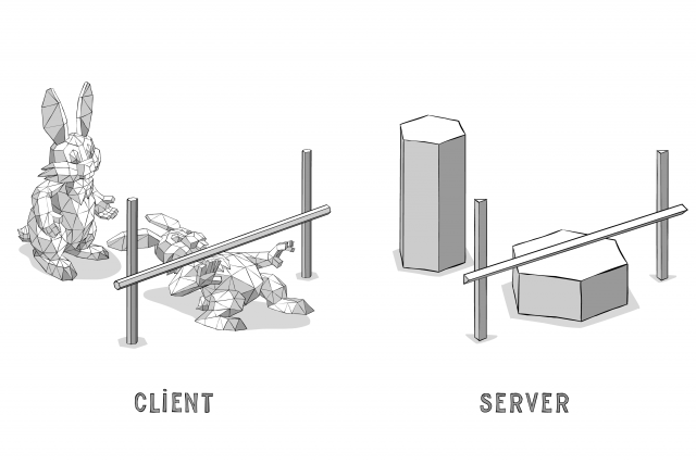 Client-Side vs Server-Side Meshes
