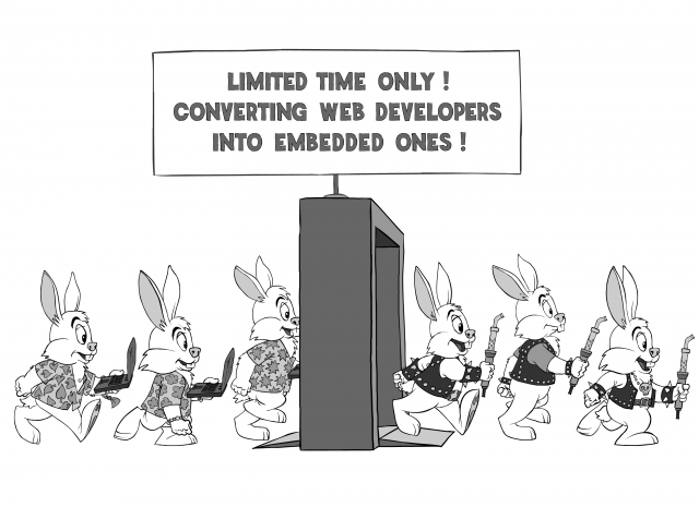Limited Time Only! Converting web developers into embedded ones!