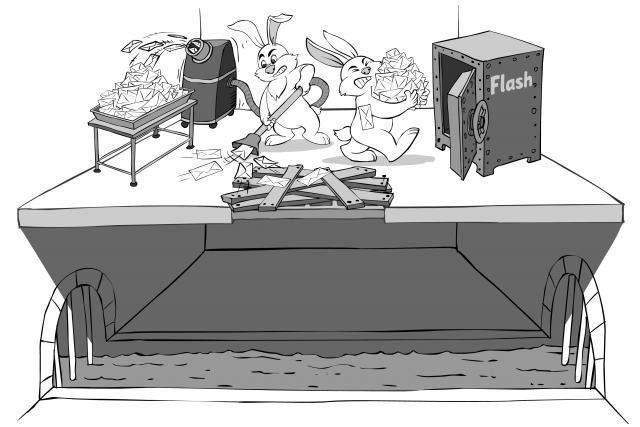 Faulty Flash Storage