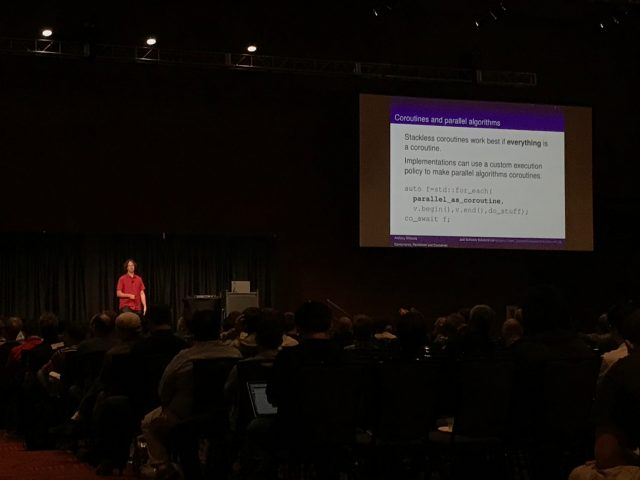 Anthony Williams. Concurrency, Parallelism and Coroutines