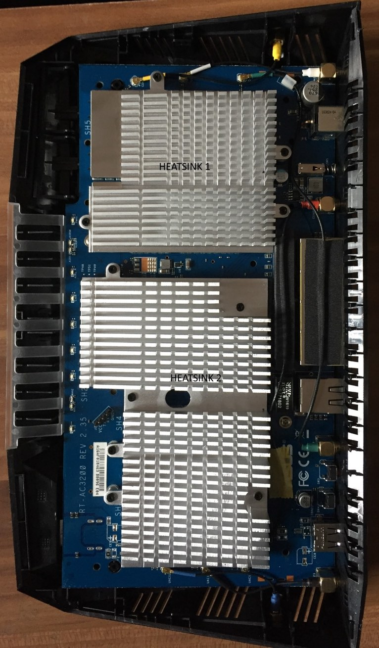 ASUS RT-AC3200 open