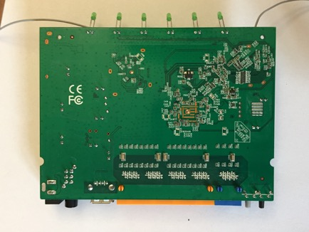 TP-Link Archer C2 PCB bottom